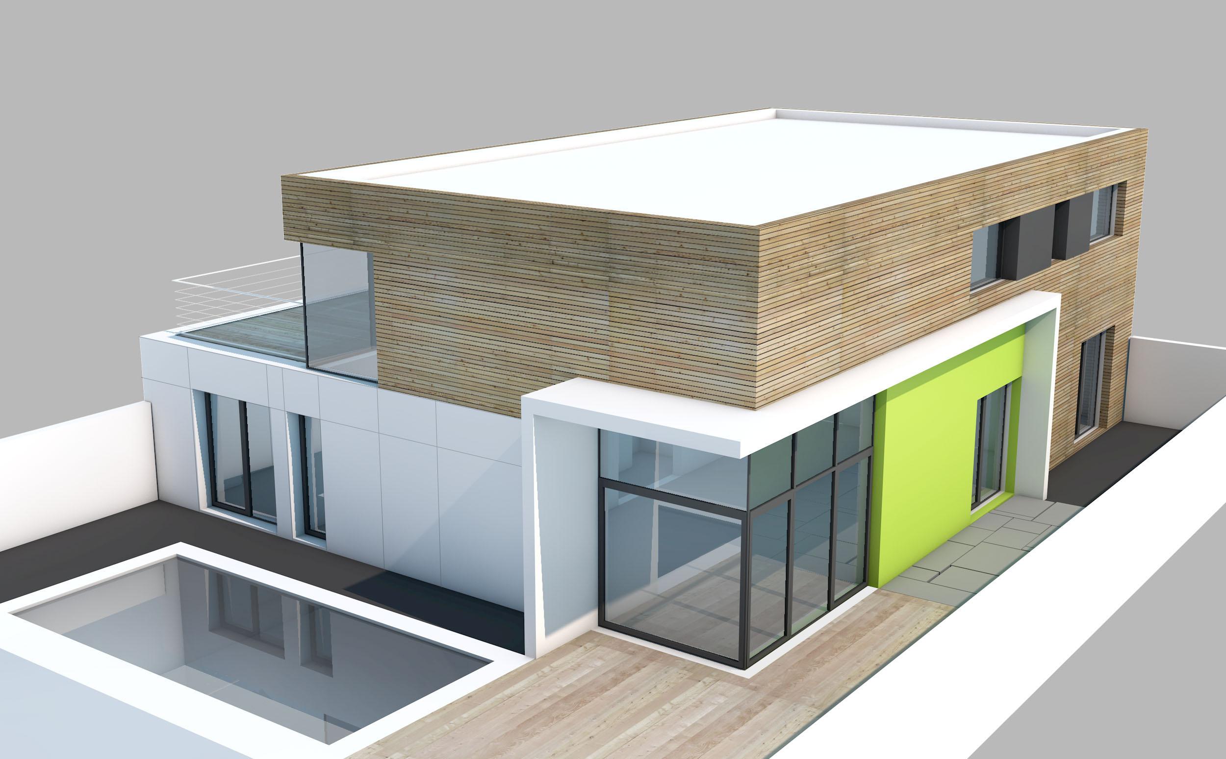 maison n lorient bleher architectes. Black Bedroom Furniture Sets. Home Design Ideas